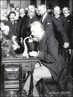 Archives BIDARD - Graham BELL en 1892